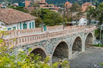 Puente Roto (Broken Bridge) in Cuenca, Ecuador