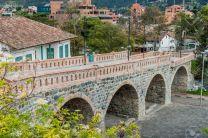 Puente Roto (Broken Bridge) in Cuenca, Ecuador